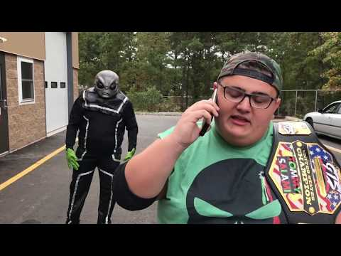 MOST CHAOTIC CHAMPIONSHIP MATCH IN HISTORY! ALIENS PRANK GTS WRESTLING!