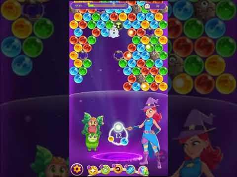 Bubble Witch 3 Saga Level 1170 ~ Boosters