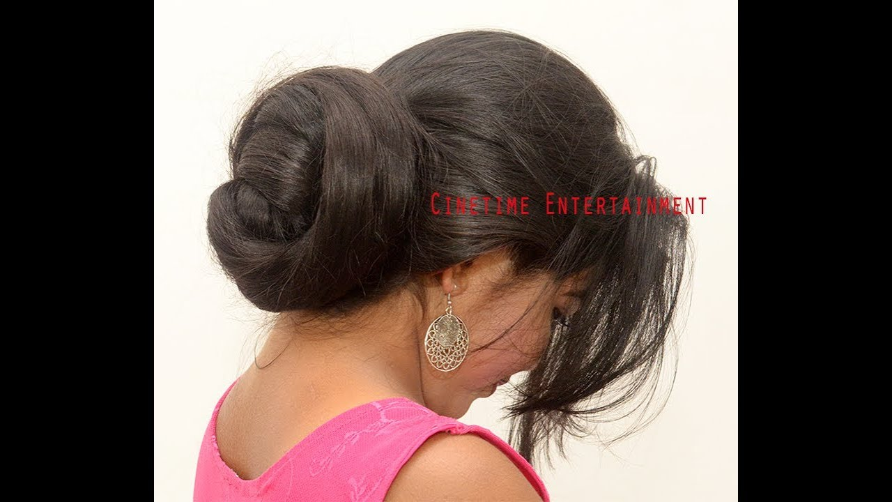Indian Long Hair Bun Images Secondtofirst Com