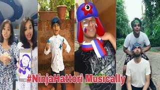 Ninja Hattori funny Musically | Funny Musically Compilation July 2018 || You Khub Entertainment