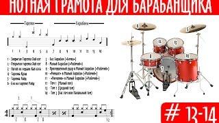 Нотная грамота для барабанщика. Урок 13-14. Такт, Тактовый размер и доли