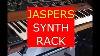 A short video of my new Jasper synth rack
