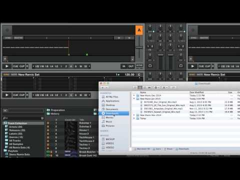 How to Import Music into TRAKTOR's Track Collection