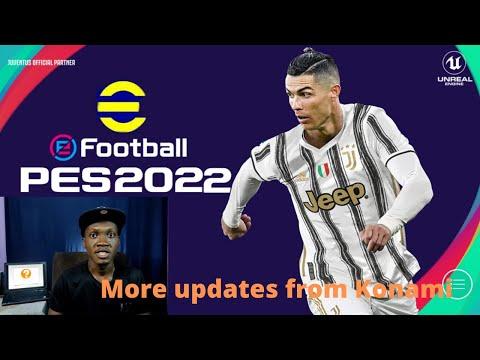 eFootball PES 2022 season update