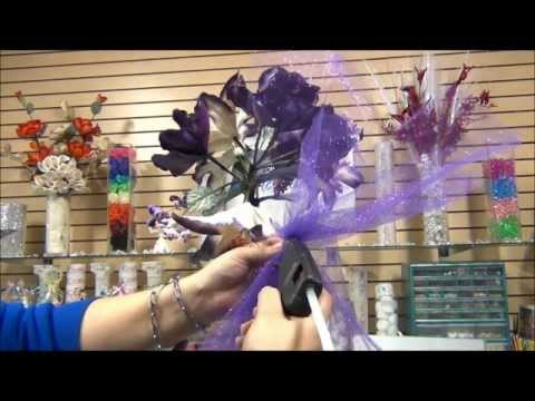How To Make Quick Amp Easy Mask Centerpiece For The Table