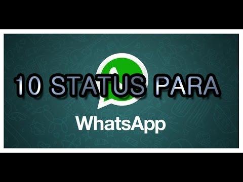 Whatsapp 10 Status E Frases Para Seu Dia Youtube