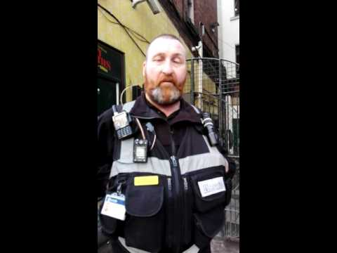 Civil enforcement officer confronted by myself