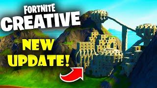 Fortnite Creative Got a NEW Update Today!