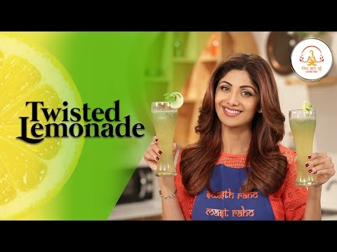 Mint Nimbu Paani | Twisted Lemonade | Shilpa Shetty Kundra | Healthy Recipe | The Art Of Loving Food