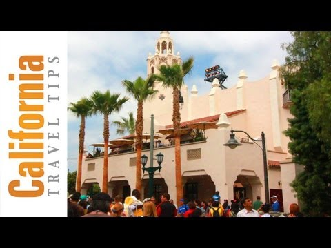 Buena Vista Street - California Adventure - Disneyland, CA