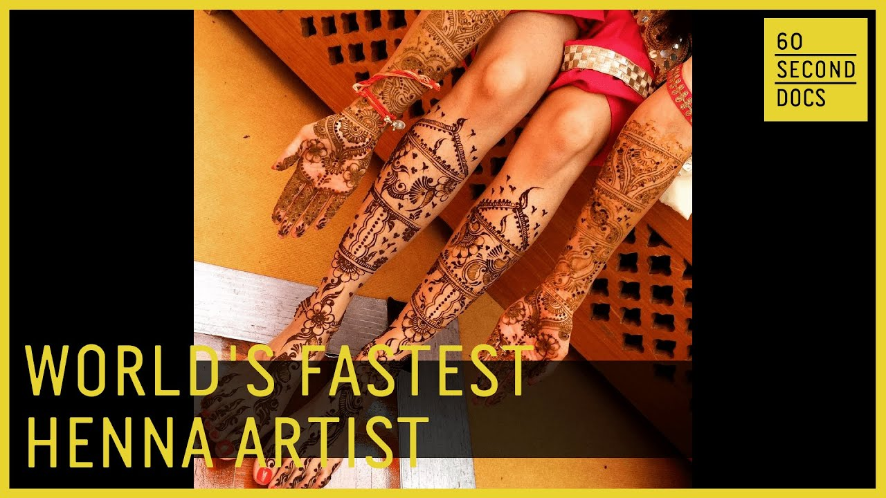 World's Fastest Henna Artist Says Henna Is For Everyone