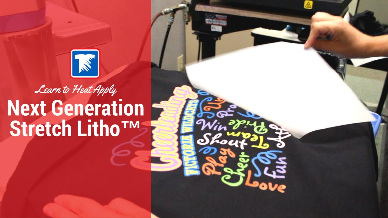 ef53d7f3 Next Generation Stretch Litho Heat Transfer Application - YouTube
