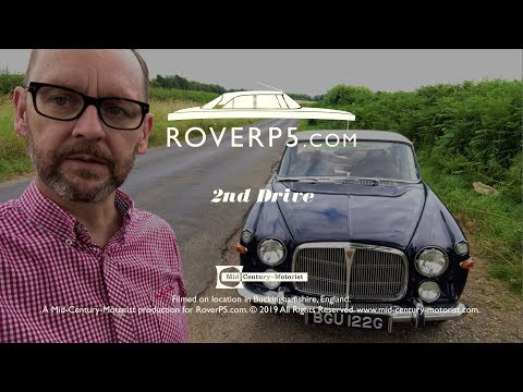 2nd Drive Of The Rover P5B Coupe. Waffle & Warble.