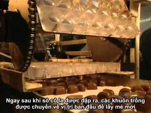 Quy trình sản xuất Chocolate