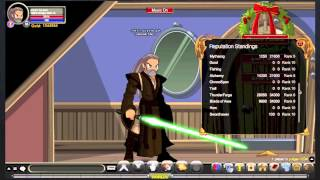 AQW: Cool & Crazy Looks - Episode 2! (Qui-Gon Jinn)