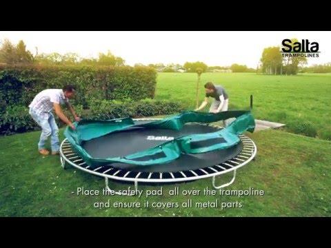 Smarte ressurser Salta Trampolines - Salta Excellent Ground instruction video - YouTube LE-14