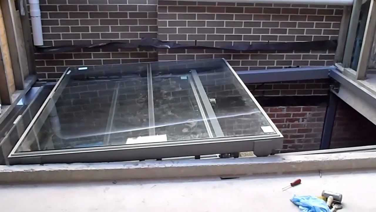Operable Glass Sliding Roof Youtube