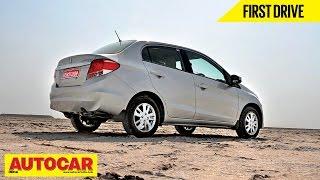 Honda Amaze VX(O) | First Drive | Autocar India