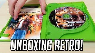 UNBOXING RETRO - Jogos de Xbox e PS1, e Controle de PS2!