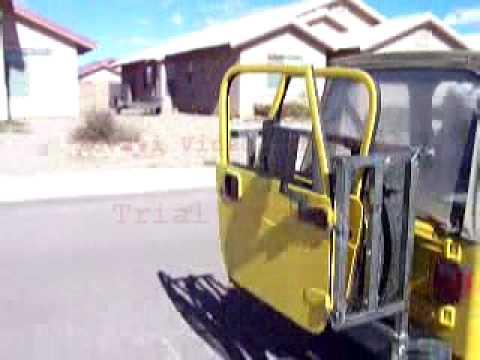 & Jeep Door Carrier (US Patent # 7293681) - YouTube