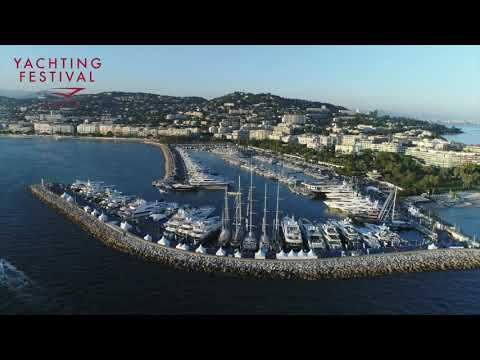 #17 Overhead view of the Cannes Yachting Festival 2018