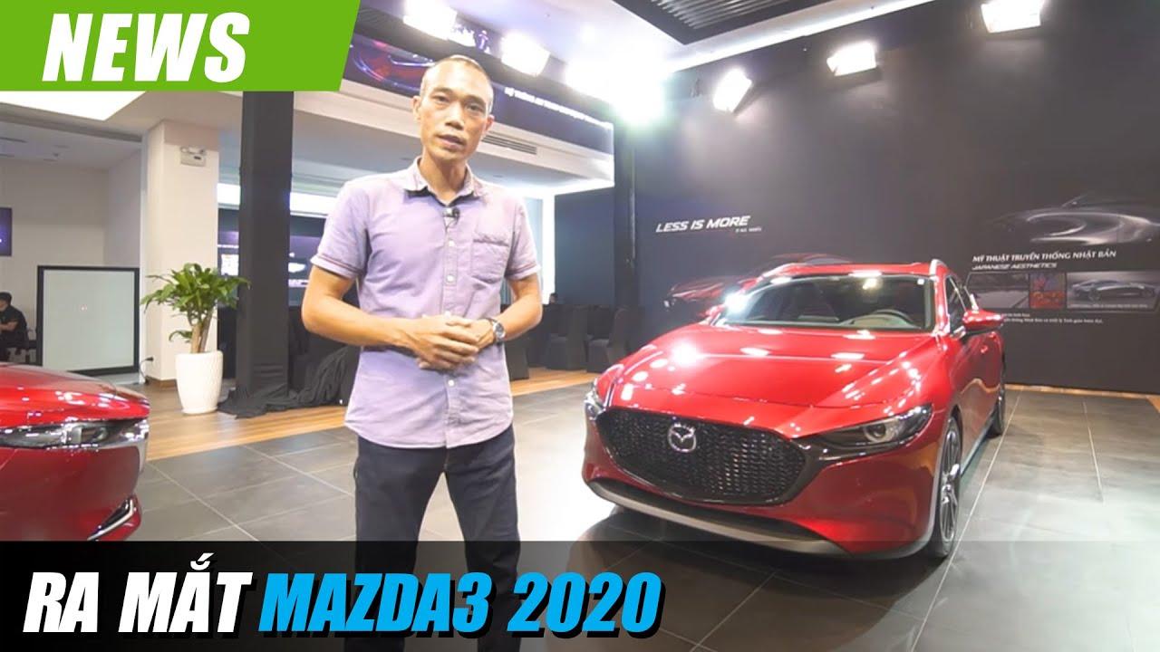 Vẻ đẹp Mazda3 SPORT và SEDAN 2020 all-new sắp gây Bão phân khúc xe C tại Việt Nam?!