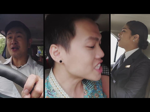 [STA2017] Carpool Karaoke - Adrian Pang + CS Finalists