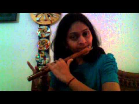 chalte chalte ;  Flute.  Paakeezah (old hindi movie)