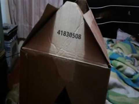 Como hacer una casa de cart n para mi perro youtube for Como amueblar una casa