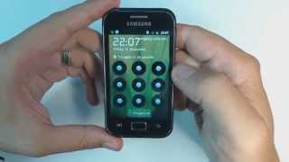 Samsung Galaxy Ace Plus S7500 hard reset(1.Turn off your phone 2.Press together volume up + volume down + home button + power button until Samsung logo appears on screen 3.Browse with volume ..., 2013-08-13T12:11:56.000Z)