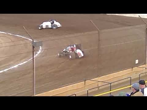 VRA Senior Sprint Car Heat Race 5 4 19