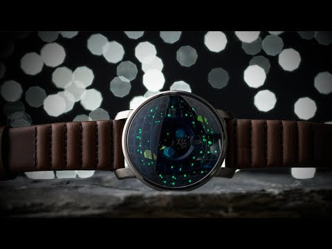 Xeric Trappist-1 Moonphase Watch - Bending Time And Space