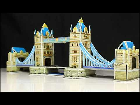3D Tower Bridge Of London - Simple DIY
