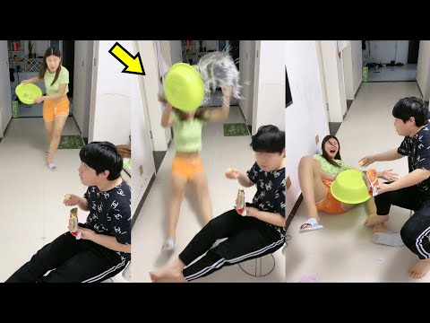 Best Funny Videos 2020 ● Cute girls doing funny things P9