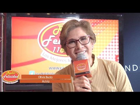 Olivia Bucio en Entrevista con Gustavo Alvite