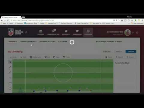 US Soccer Digital Coaching Center- Session Plan Help