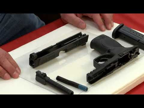 Smith & Wesson M&P® 9 - How to Disassemble/Field Strip/Break Down A Smith & Wesson M&P® 9 Firearm
