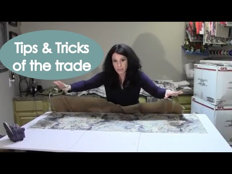 Renee Romeo - How to Make a Board Mounted Window Valance