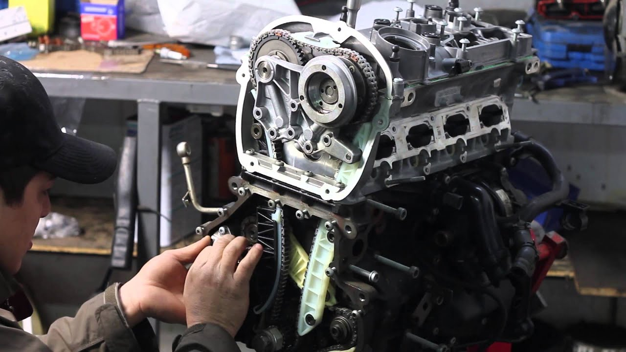 VW GOLF MK6 GTI 20 TSI ENGINE REBUILD (powered by
