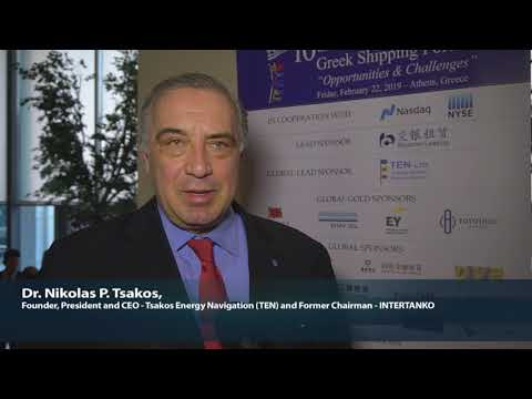 2019 10th Annual Greek Shipping Forum Interview-Nikolas P. Tsakos