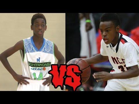 Lebron James Son VS Dwayne Wade Son!!!!!