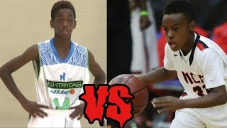 Lebron James Son VS Dwayne Wade Son!!!!!