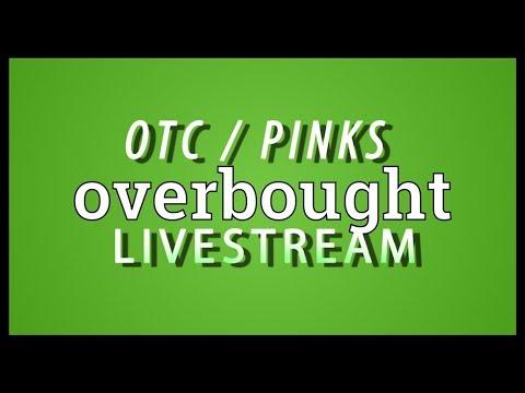 OTC / Pink Stocks - Were Wayyyyyy Overbought Now ... LOL !