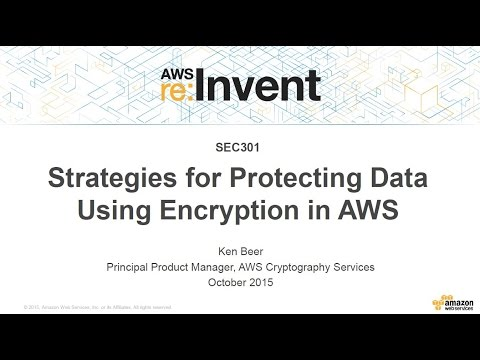 Cloud Encryption Strategies in AWS - DZone Cloud