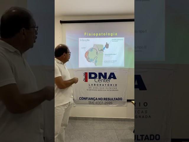 Gravação da Live com Dr. Marcos Leão em parceria com o DNA Center