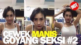 Bigo Live Cewek Senyum Manis Pakai Tank Top Goyang Seksi