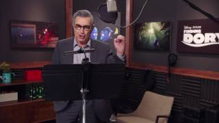 finding dory eugene levy charlie behind the scenes voice acting