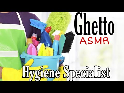 ASMR Ghetto Hygiene Specialist Help// VERY Funny! // Very REALISTIC // WARNING: Profane Language
