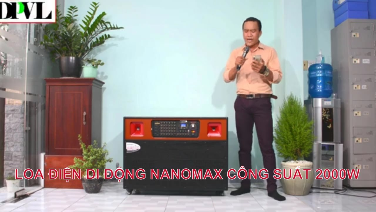 Loa Điện Nanomax, Loa Karaoke Di Động Nanomax Pro-801