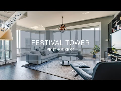 80 John Street - Festival Tower, Penthouse 04 - $2,498,000 (CAD)